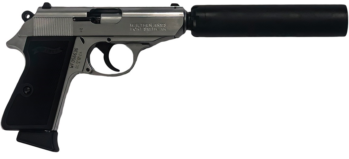 007 Walther PPK with Silencer