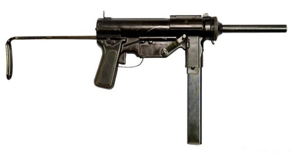 "M3 Submachine Gun (""Grease Gun"")"
